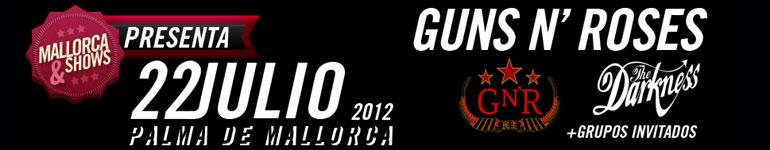 Entradas Guns and Roses Mallorca con Hotelopia