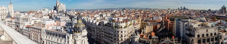 Hoteles con las terrazas más impresionantes de Madrid
