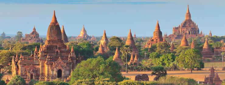 Hoteles en Myanmar (birmania)