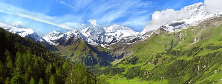 Hoteles en Alpes Austríacos