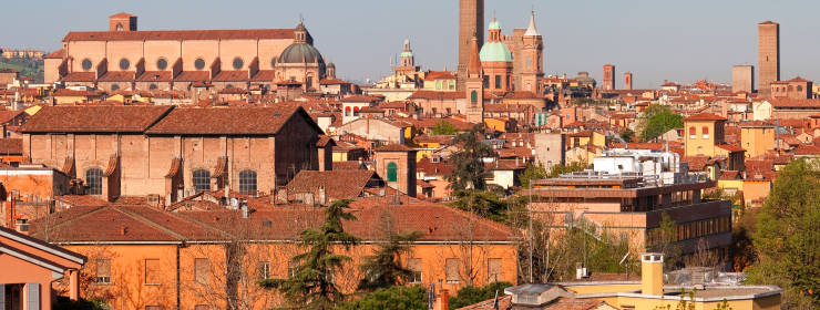 Hoteles en Bolonia