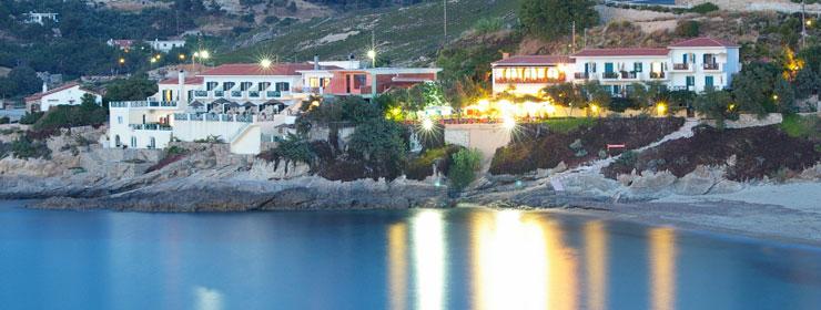 Виллы на берегу греция