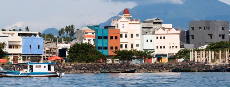 Hoteles en Manado