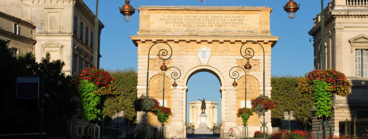 Hoteles en Montpellier