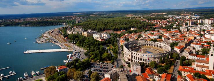 Hoteles en Istria