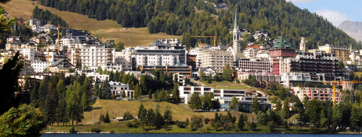 Hoteles en Saint Moritz