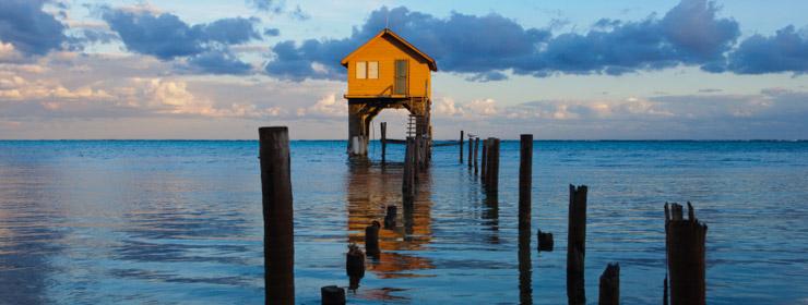 Hoteles en Ambergris Caye