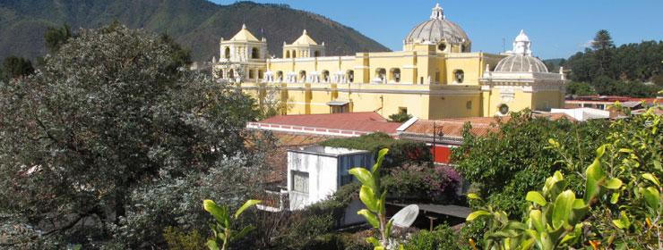 Hoteles en Antigua Guatemala