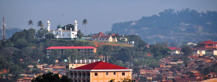 Hoteles en Kampala