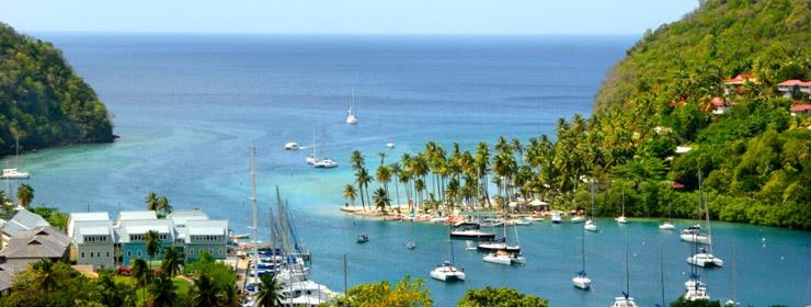 Hoteles en Santa Lucia
