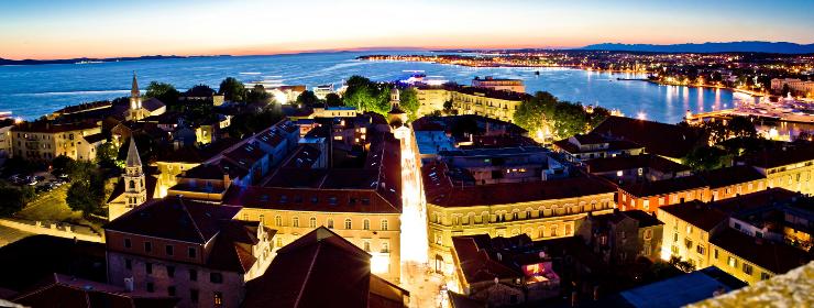 Hoteles en Zadar - Norte Dalmacia