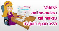 Pay at Hotel o Pay via Web Banner