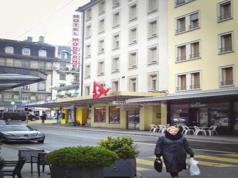 Hotelli Moderne Geneven Kaupunki Geneve Hotelopia