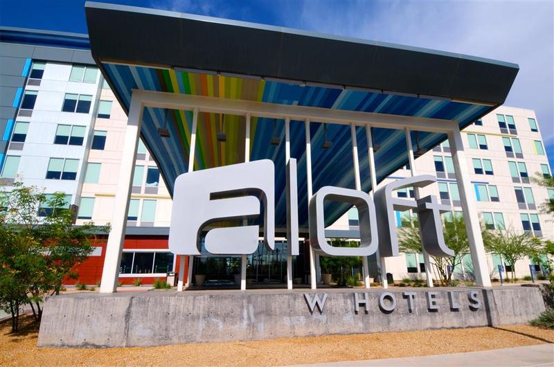 Hotel Aloft Phoenix Airport Sky Harbor International Area Hotelopia