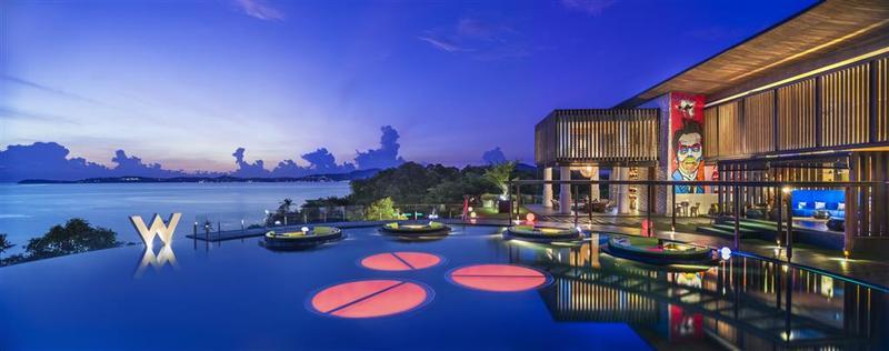 酒店 苏梅岛 w 度假村