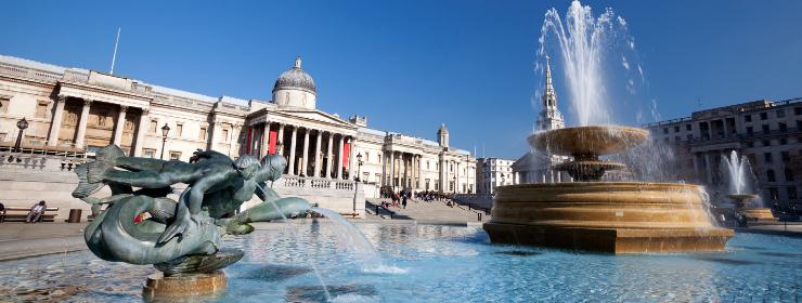 Hôtels - Trafalgar Square