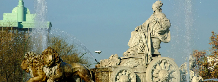 Hotels in Cibeles Fountain